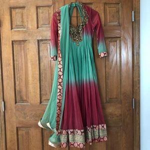 Dresses & Skirts - Unique Anarkali Suit (Indian Dress)